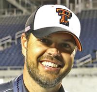 Trenton Head Coach Andrew Thomas