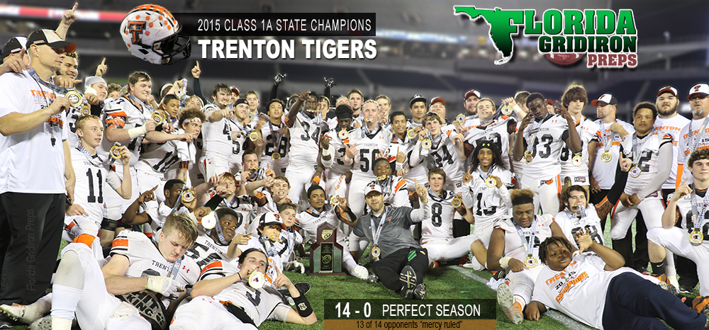 Trenton Tigers 2015 State Champs